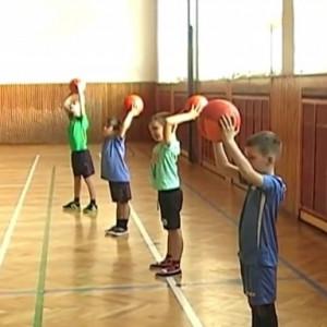 Rozcvička s míčem